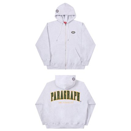 Paragraph Hoodies Unisex Street Style Long Sleeves Cotton Oversized Hoodies 4