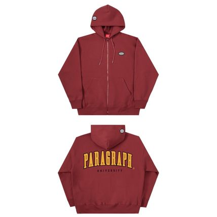 Paragraph Hoodies Unisex Street Style Long Sleeves Cotton Oversized Hoodies 5
