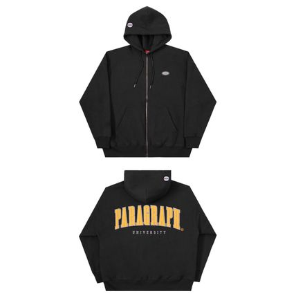 Paragraph Hoodies Unisex Street Style Long Sleeves Cotton Oversized Hoodies 10
