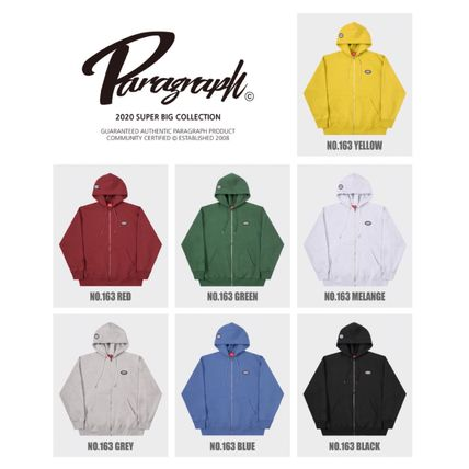 Paragraph Hoodies Unisex Street Style Long Sleeves Cotton Oversized Hoodies 11