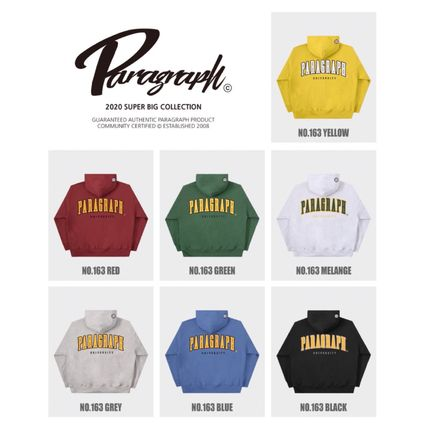 Paragraph Hoodies Unisex Street Style Long Sleeves Cotton Oversized Hoodies 12