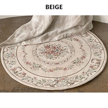 Round Persian Style Carpets & Rugs