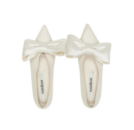 Plain Party Style Elegant Style Pointed Toe Shoes