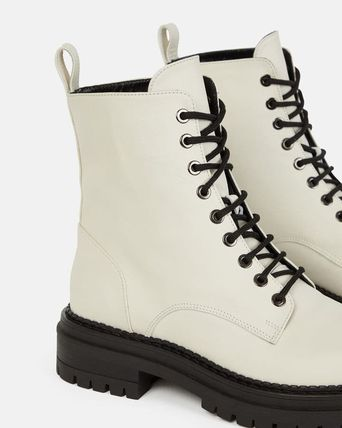 minelli Mountain Boots Casual Style Plain Office Style Elegant Style