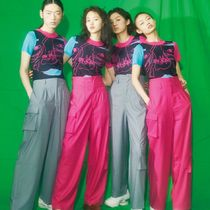 Kina and Tam Short Casual Style Unisex Short Sleeves Loungewear Cropped