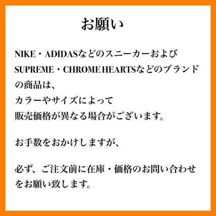 CHROME HEARTS Unisex Street Style Collaboration Knit Hats