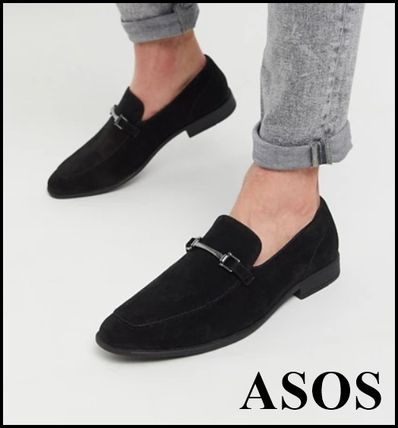 ASOS Loafers Suede Plain Loafers & Slip-ons