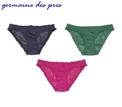 Germaine des Pres Plain Cotton Co-ord Underwear