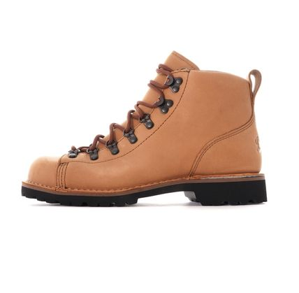 Mountain Boots Unisex Blended Fabrics Street Style Bi-color