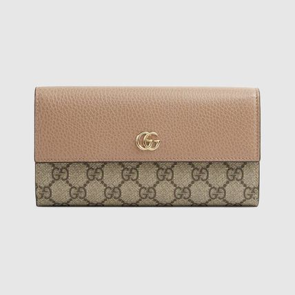 GUCCI GG Marmont Gg Marmont Leather Continental Wallet