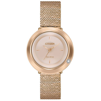 Casual Style Round Party Style Quartz Watches Stainless