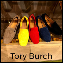 Tory Burch Casual Style Suede Street Style Plain Office Style