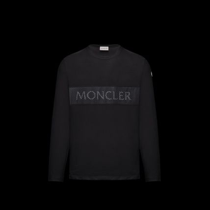 MONCLER Long Sleeve Crew Neck Blended Fabrics Long Sleeves Cotton 2