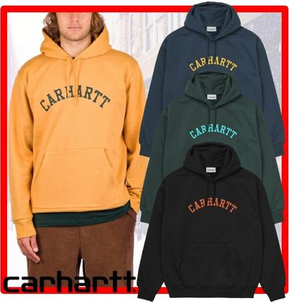 Carhartt Hoodies Street Style Long Sleeves Hoodies