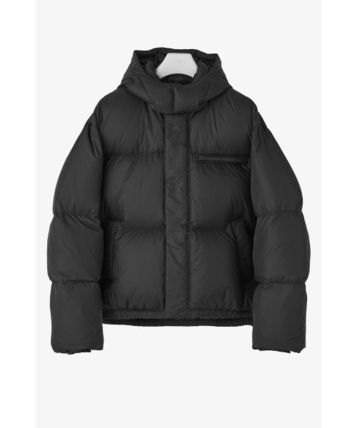 Plain Oversized Down Jackets