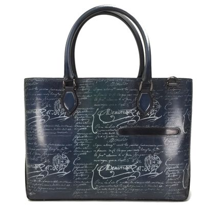 Calfskin A4 Leather Totes