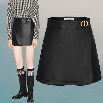 Christian Dior Wrap-Front Shorts With 'Cd' Buckle