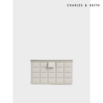 Charles&Keith Faux Fur Plain Party Style Party Bags
