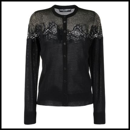 Dolce & Gabbana Cashmere Silk Long Sleeves Cotton Elegant Style Cashmere