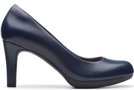Clarks Plain Toe Leather Party Style Office Style Formal Style