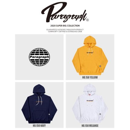 Paragraph Hoodies Unisex Street Style Long Sleeves Cotton Oversized Hoodies 7