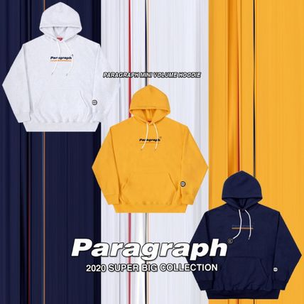 Paragraph Hoodies Unisex Street Style Long Sleeves Cotton Oversized Hoodies 2