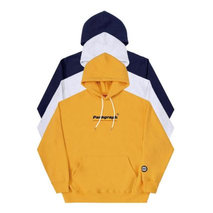 Paragraph Hoodies Unisex Street Style Long Sleeves Cotton Oversized Hoodies 3