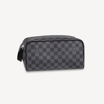 Louis Vuitton DAMIER Dopp Kit Toilet Pouch