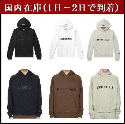 FEAR OF GOD Hoodies Pullovers Unisex Street Style Long Sleeves Cotton Oversized