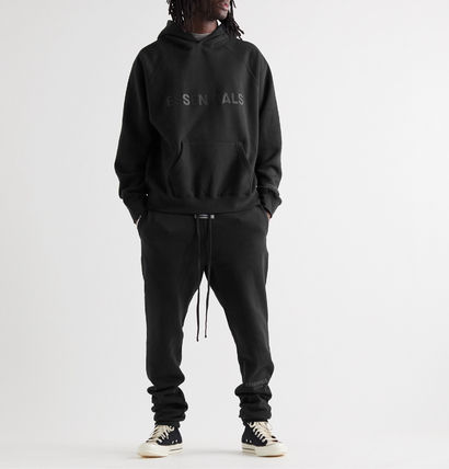 FEAR OF GOD Hoodies Pullovers Unisex Street Style Long Sleeves Cotton Oversized 2