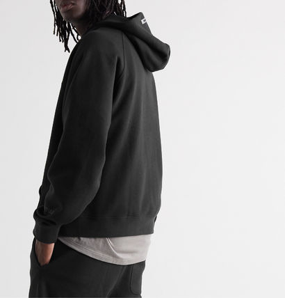 FEAR OF GOD Hoodies Pullovers Unisex Street Style Long Sleeves Cotton Oversized 3