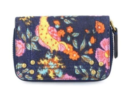 Flower Patterns Logo Folding Wallets