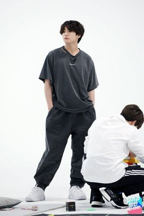 TRUNK PROJECT ★Trunk Project★BTS JUNGKOOK Ver1 Ripped Hole T Shirts