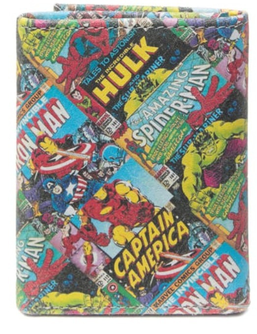 shop marvel wallets & card holders