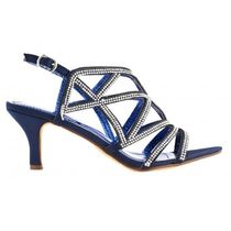 Little Mistress Open Toe Round Toe Casual Style Pin Heels Party Style