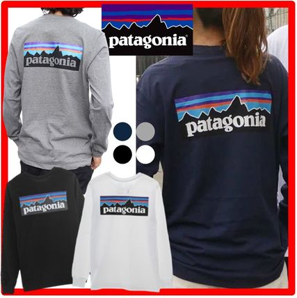 Patagonia Long Sleeve Unisex Street Style Long Sleeves Long Sleeve T-shirt Outdoor