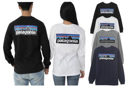Patagonia Long Sleeve Unisex Street Style Long Sleeves Long Sleeve T-shirt Outdoor 3