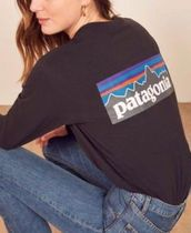 Patagonia Long Sleeve Unisex Street Style Long Sleeves Long Sleeve T-shirt Outdoor 8