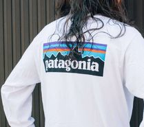 Patagonia Long Sleeve Unisex Street Style Long Sleeves Long Sleeve T-shirt Outdoor 9
