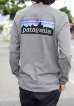 Patagonia Long Sleeve Unisex Street Style Long Sleeves Long Sleeve T-shirt Outdoor 11