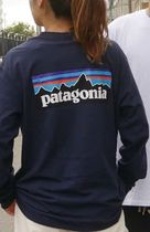 Patagonia Long Sleeve Unisex Street Style Long Sleeves Long Sleeve T-shirt Outdoor 12