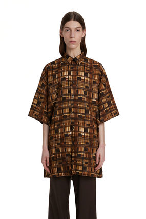 TRUNK PROJECT ★Trunk Project★Graphic Oversize Shirt