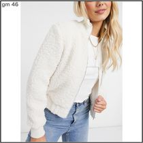 Pimkie More Jackets Casual Style Street Style Plain Elegant Style Shearling 4