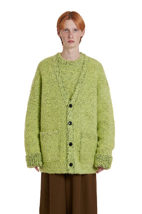 TRUNK PROJECT ★Trunk Project★Two tone Boucle Cardigan Jacket