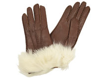 Tory Burch Plain Leather Gloves Gloves