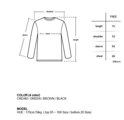 HUE Sweaters Unisex Street Style Collaboration Long Sleeves Plain 2