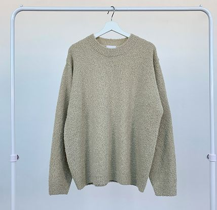 HUE Sweaters Unisex Street Style Collaboration Long Sleeves Plain 18