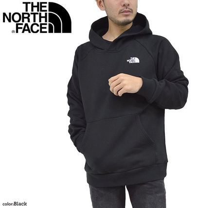 THE NORTH FACE Hoodies Pullovers Unisex Street Style Long Sleeves Cotton Oversized 3