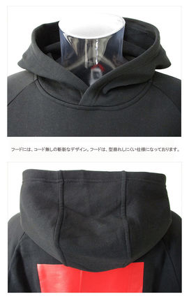 THE NORTH FACE Hoodies Pullovers Unisex Street Style Long Sleeves Cotton Oversized 12