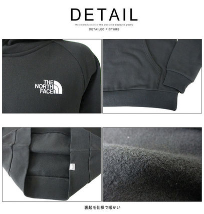 THE NORTH FACE Hoodies Pullovers Unisex Street Style Long Sleeves Cotton Oversized 13